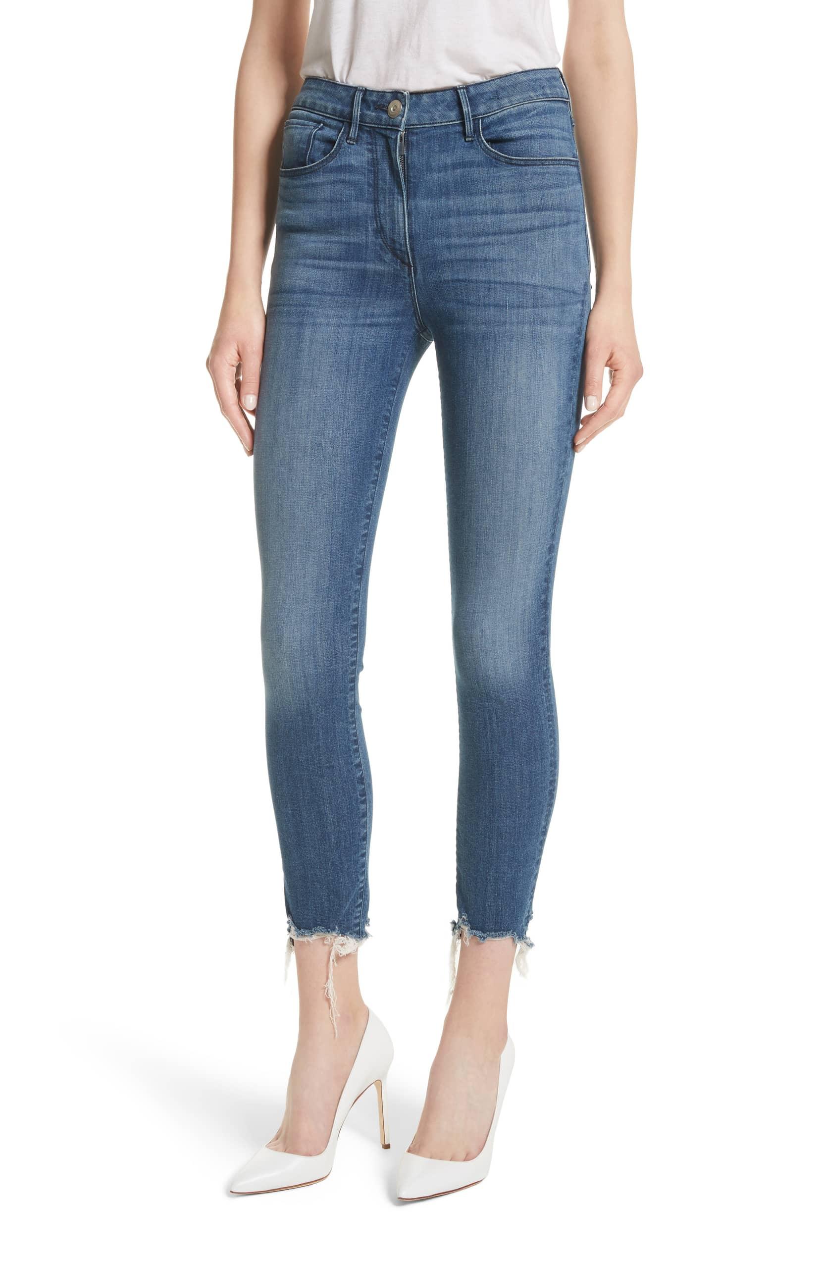3X1 NYC W3 Crop Skinny Jeans