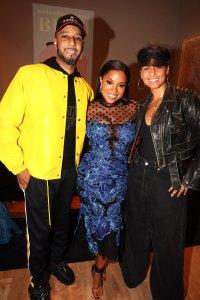Swizz Beatz, Mashonda, and Alicia Keys