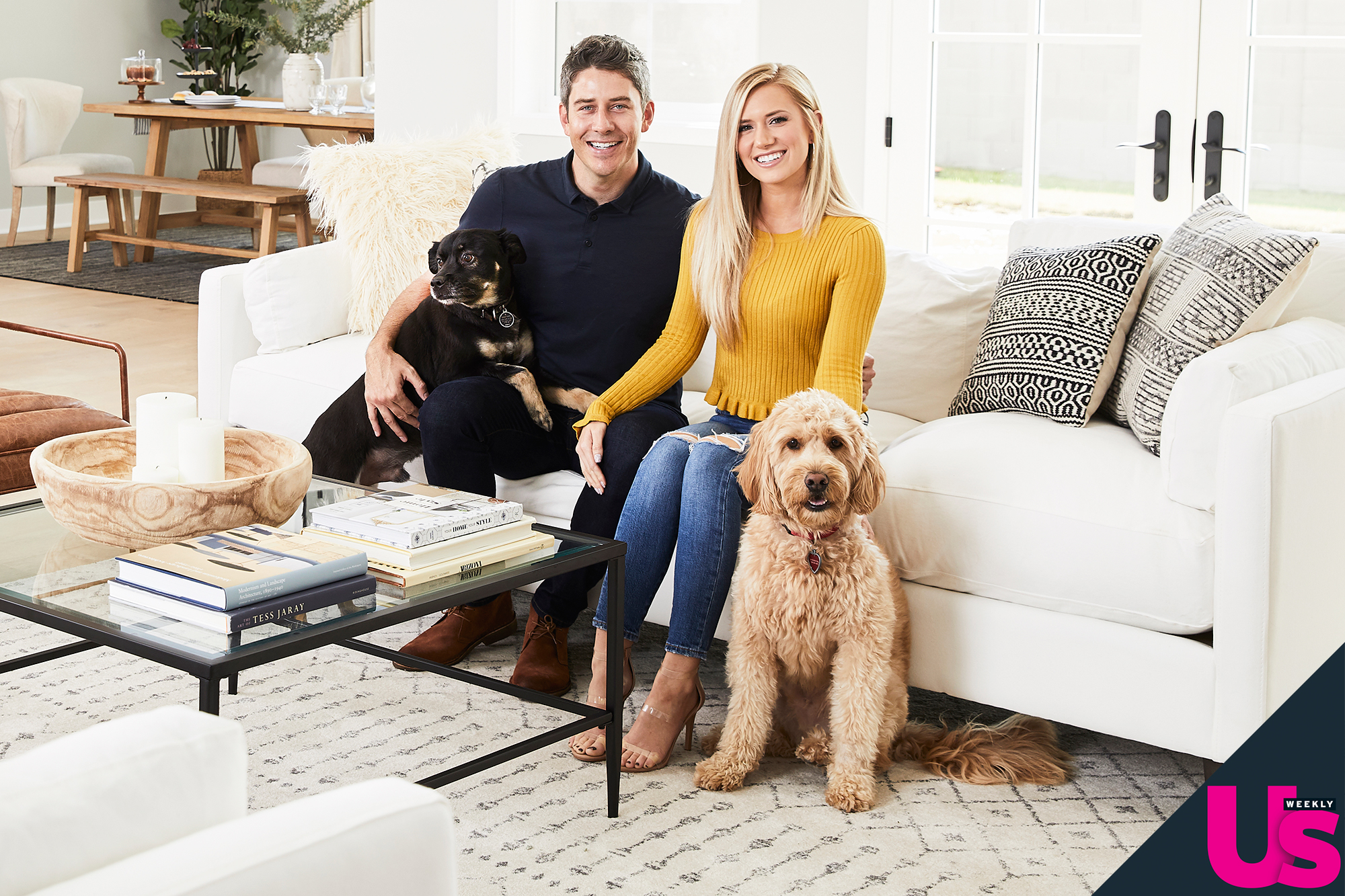 """Arie Luyendyk Jr Lauren Burnham New Home - """"That was part of the reason that we got this house. We wanted to be able to grow into it,"""" Luyendyk Jr. tells Us , when asked if the couple envision themselves raising kids in their home."""