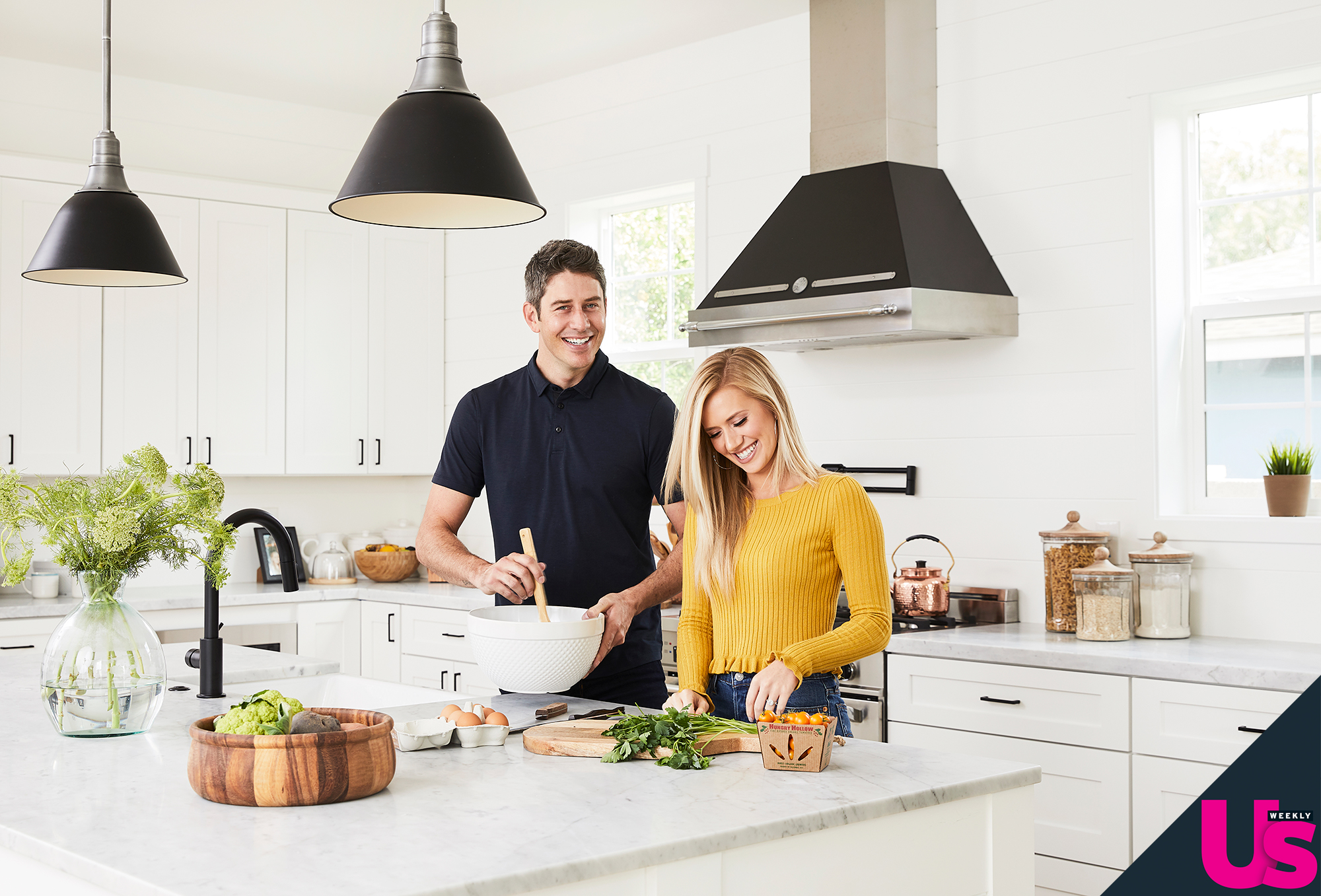 """Arie Luyendyk Jr Lauren Burnham New Home - Says the race car driver, """"We're looking forward to Thanksgiving this year because we'll be hosting our families for the first time."""""""