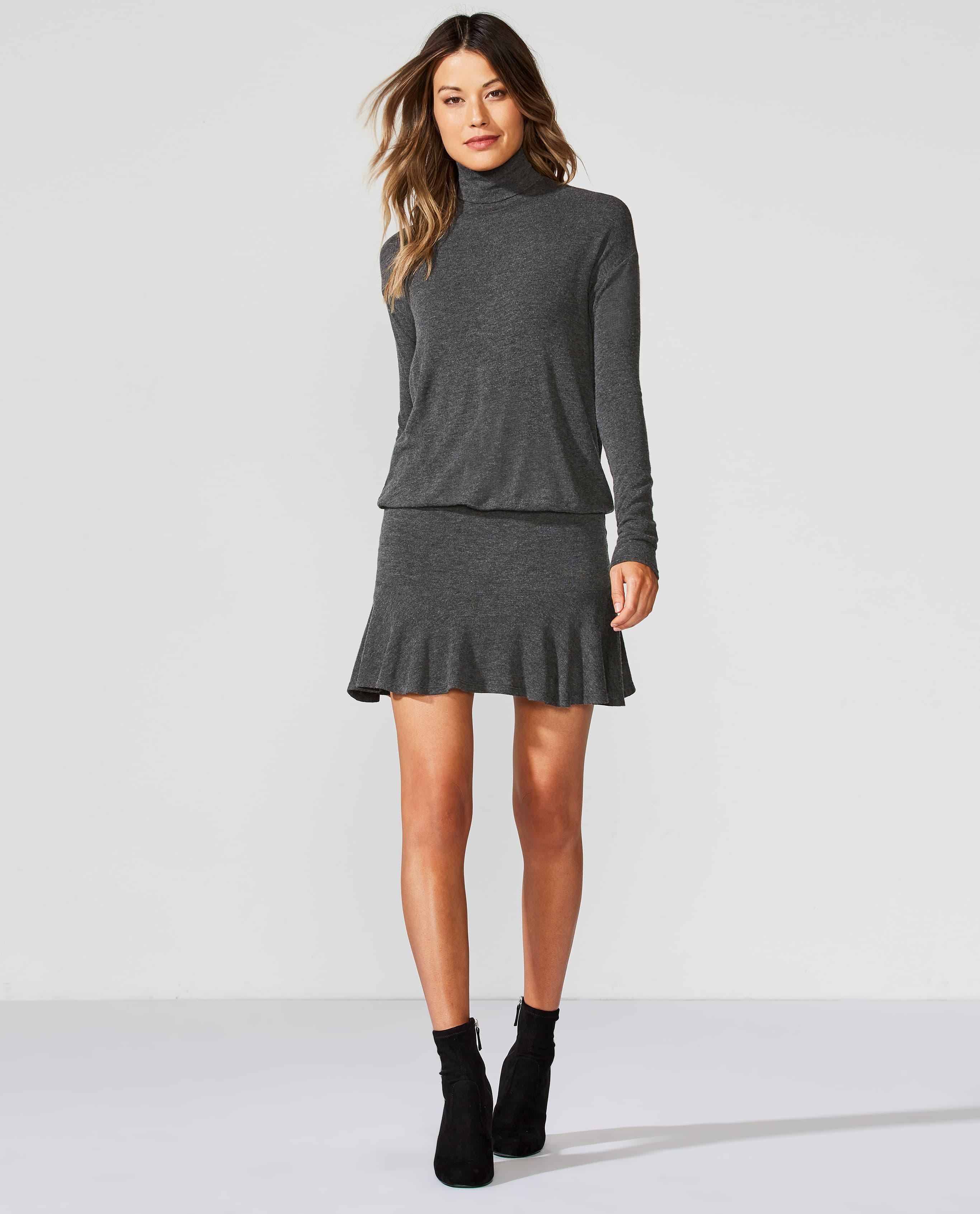 Bailey 44 Anastasia Ruffle-Hem Sweaterdress