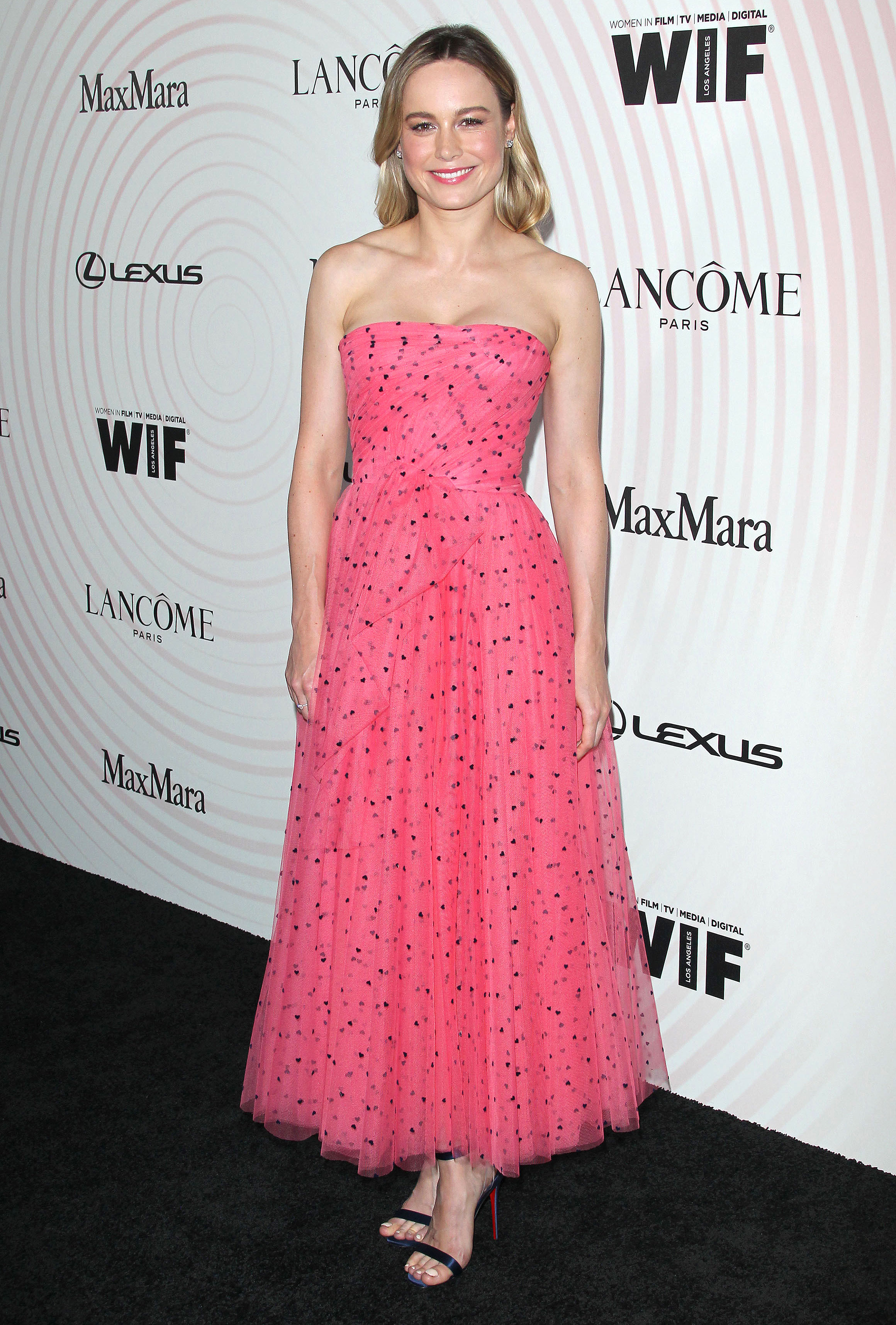 Brie-Larson - In a $4,690 tulle A-line on June 13.