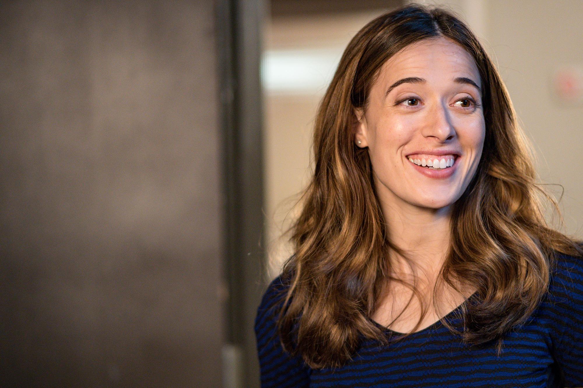 Chicago P D 's Marina Squerciati Talks Shocking New Romance