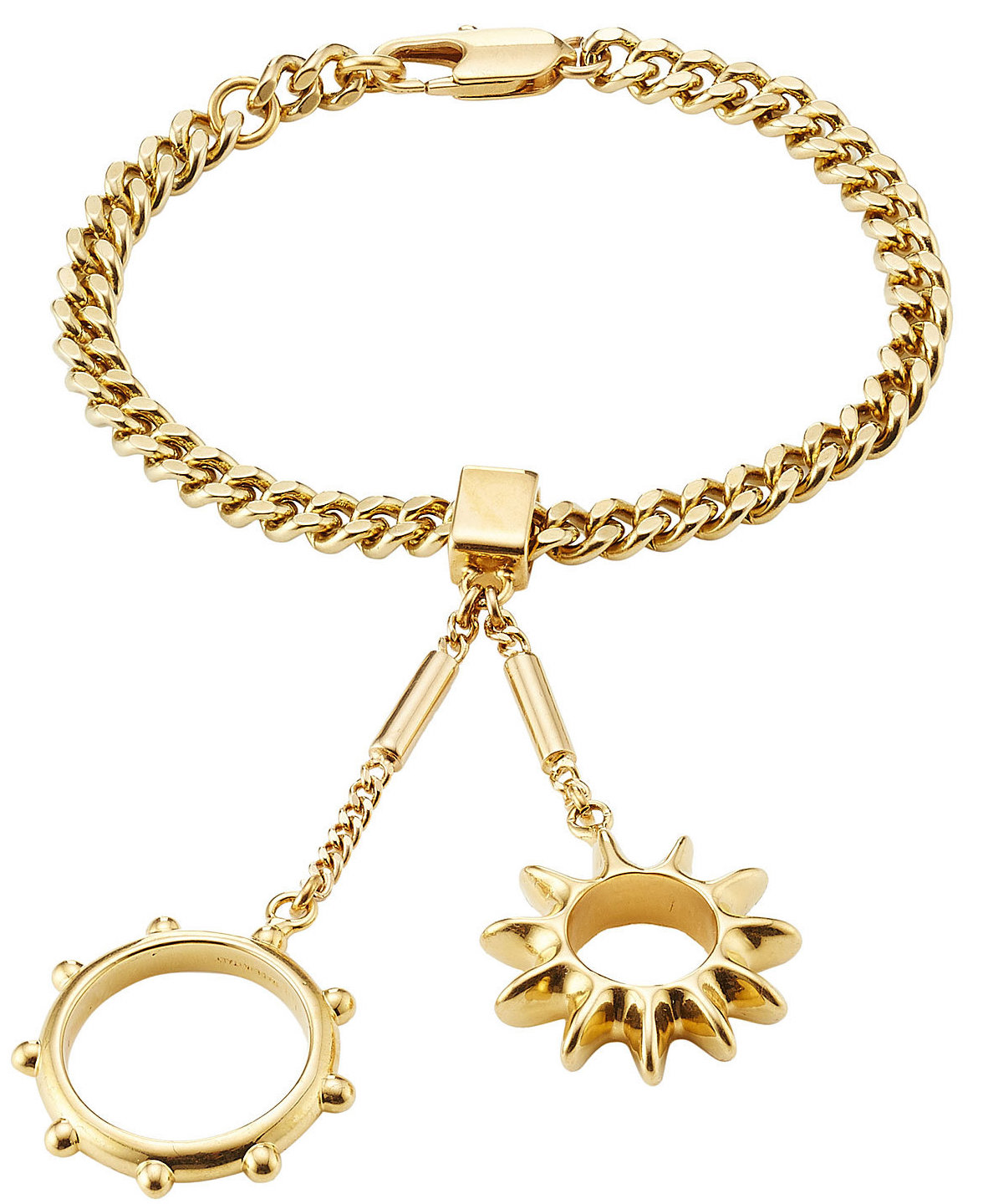 Chloé Bracelet with Rings Attached