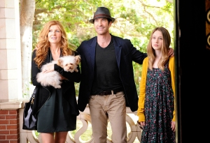 Connie Britton Dylan McDermott american horror story