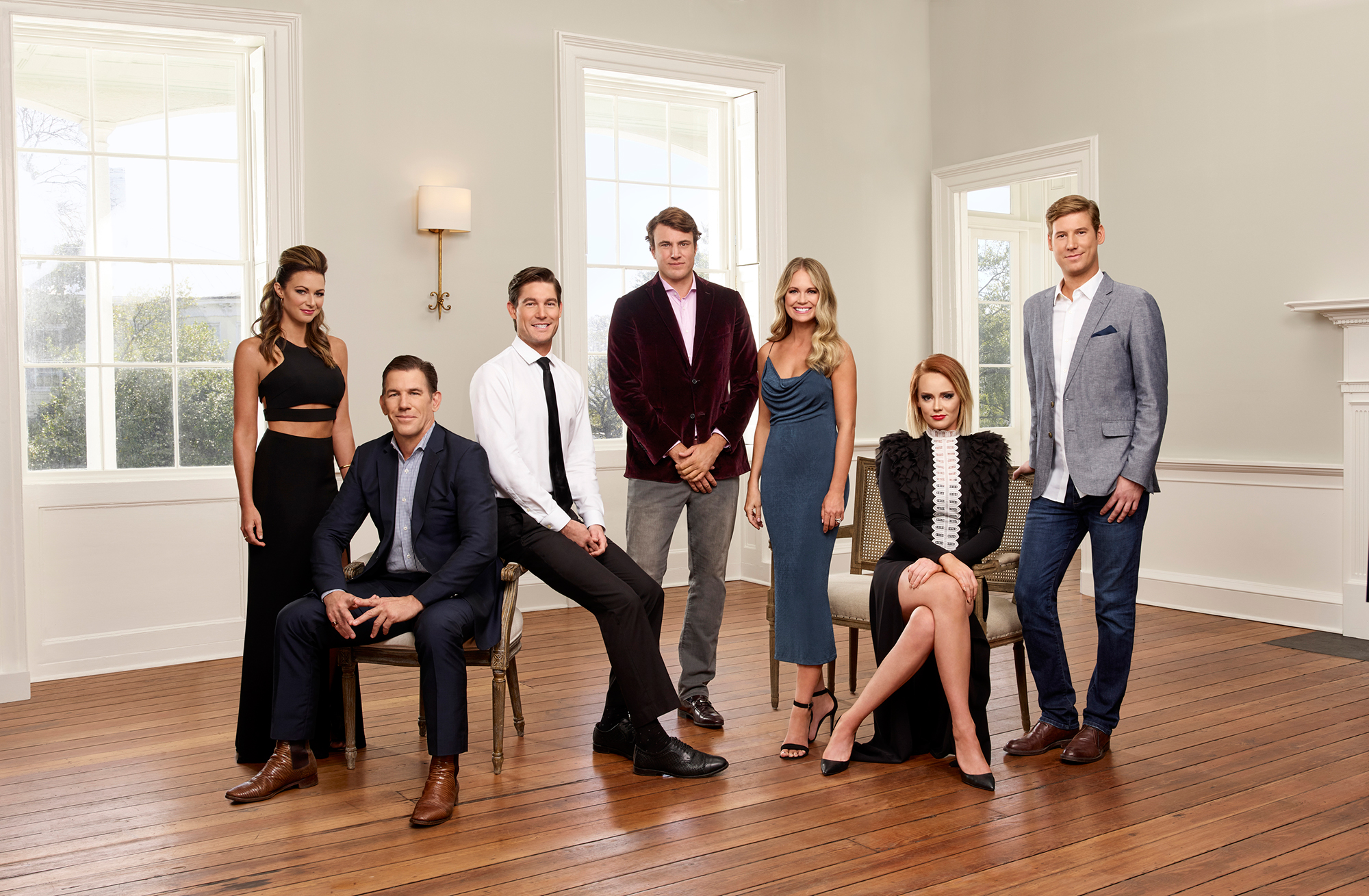 Everything We Know About 'Southern Charm' Season 6 - Chelsea Meissner, Thomas Ravenel, Craig Conover, Shepard Rose, Cameran Eubanks, Kathryn Dennis and Austen Kroll on 'Southern Charm.'