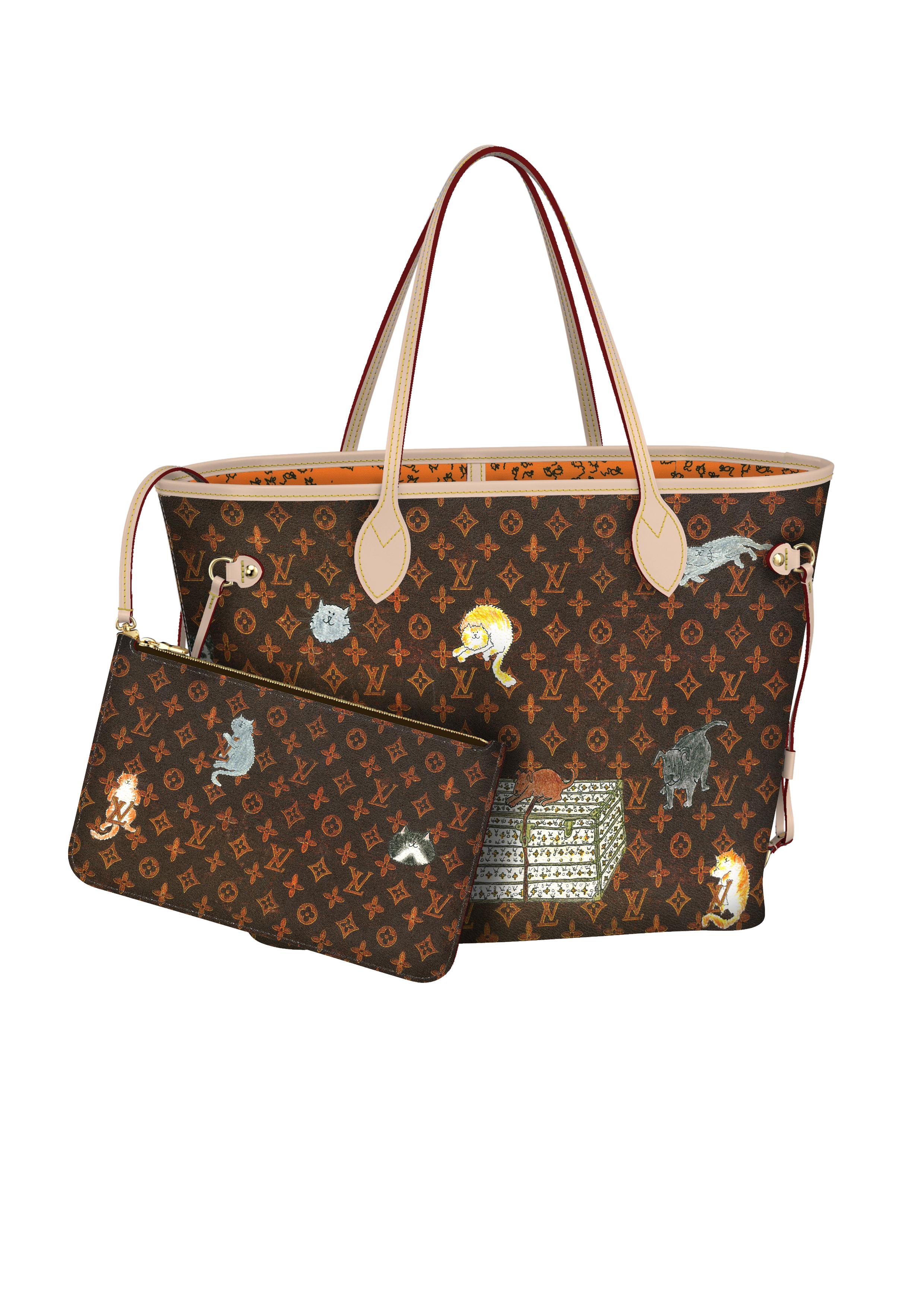 Tote-ally Cute. Louis Vuitton s cult-favorite Neverfull bag ... ae003eb527a6f