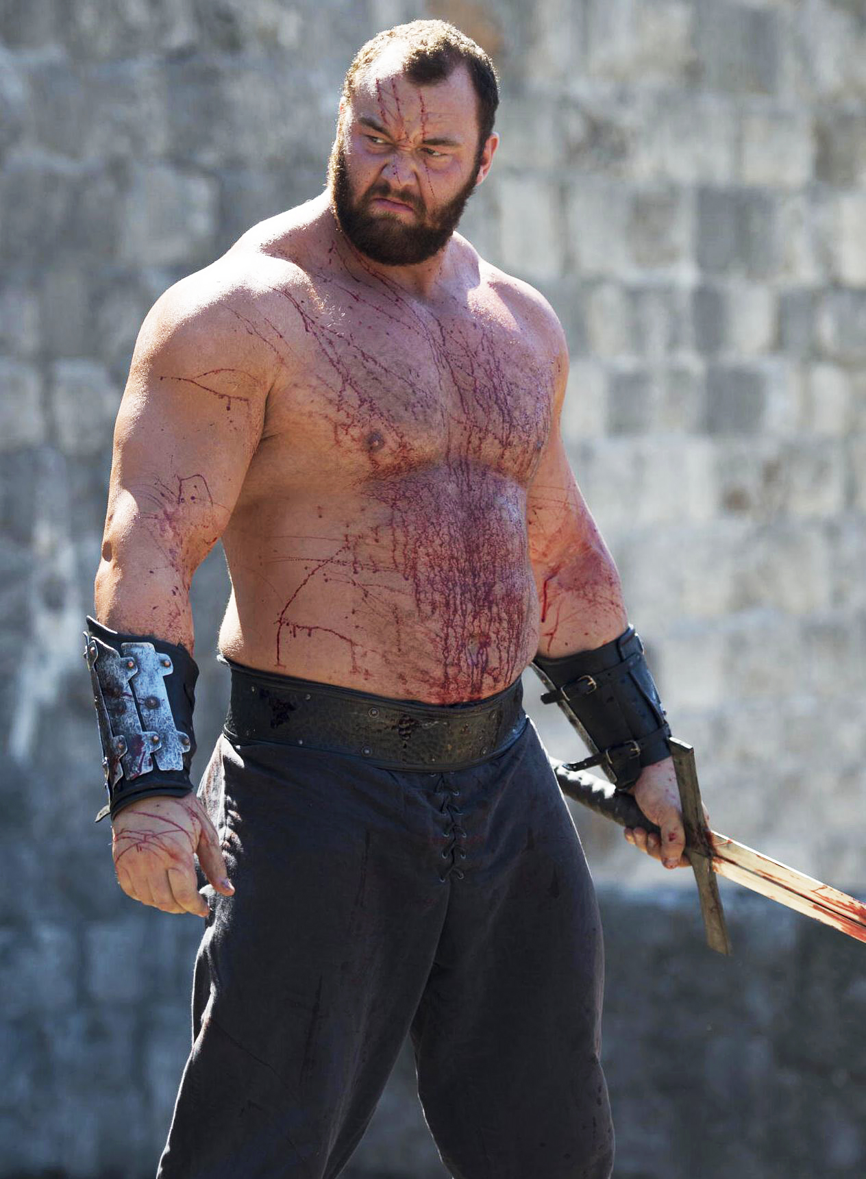 Hafthor Julius Bjornsson The Mountain Game of Thrones Married
