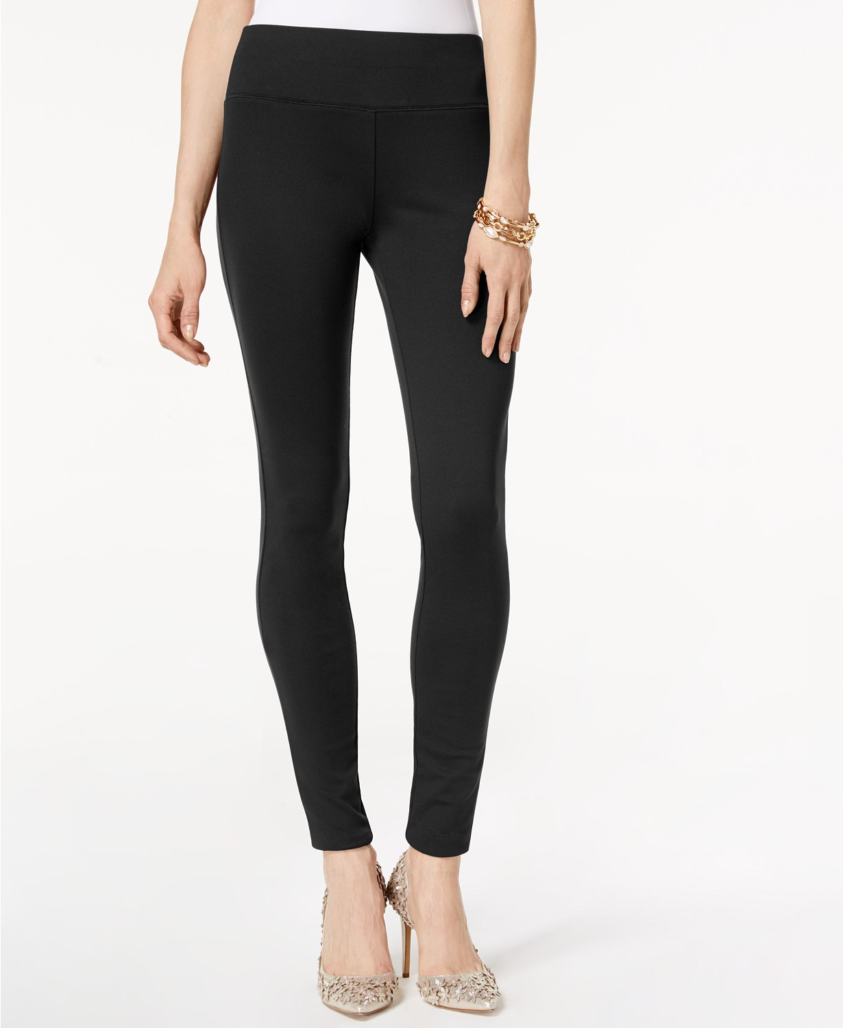 I.N.C International Concepts Pull-On Ponte Skinny Pants