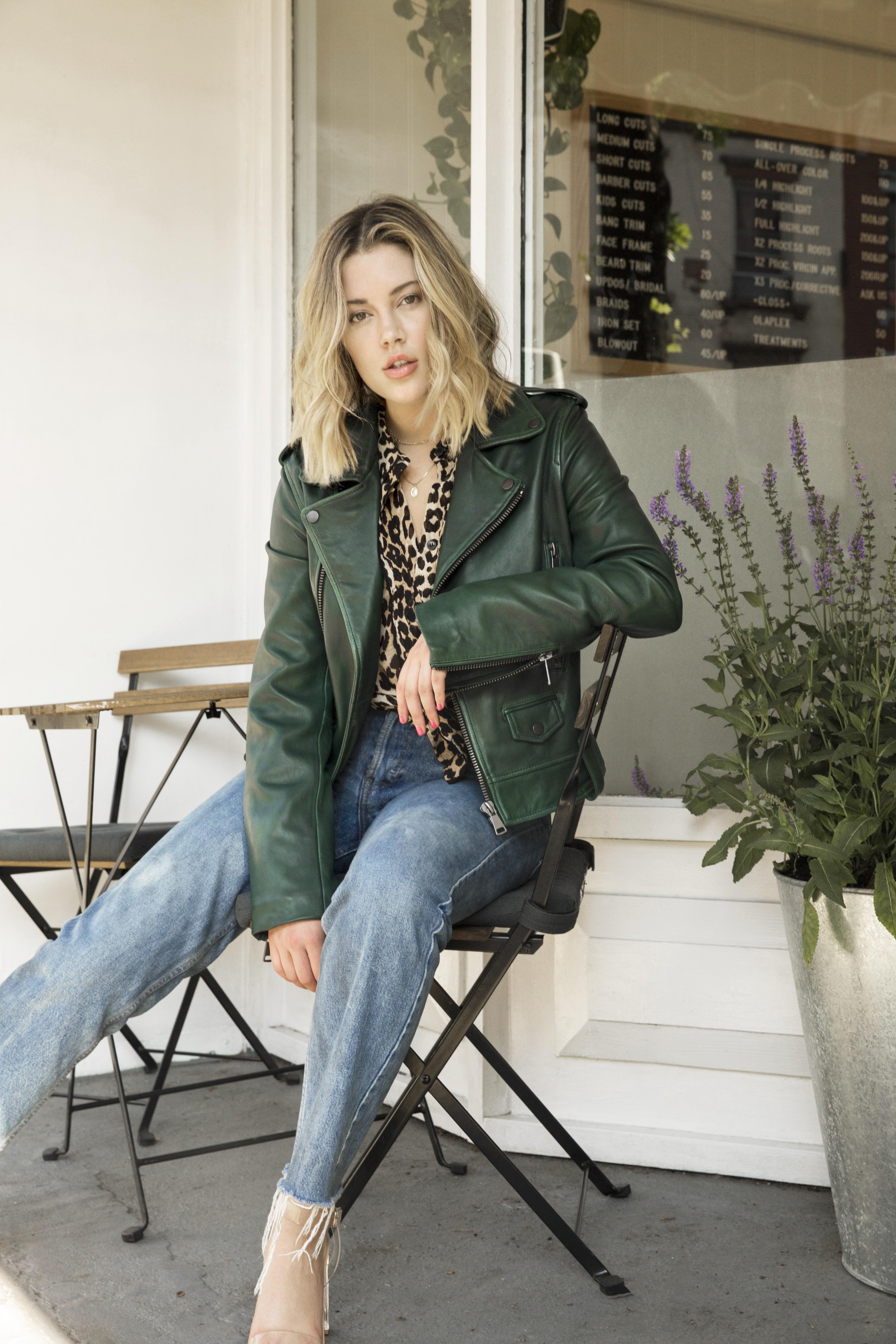 vintage washed jacket