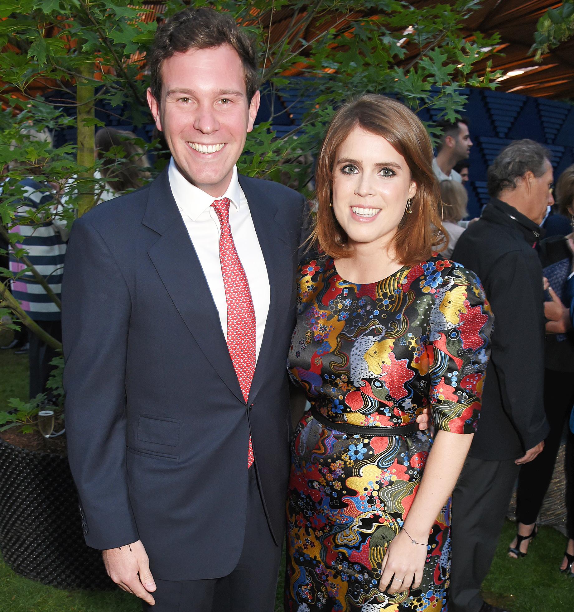 Jack Brooksbank Princess Eugenie Wedding Weight Loss