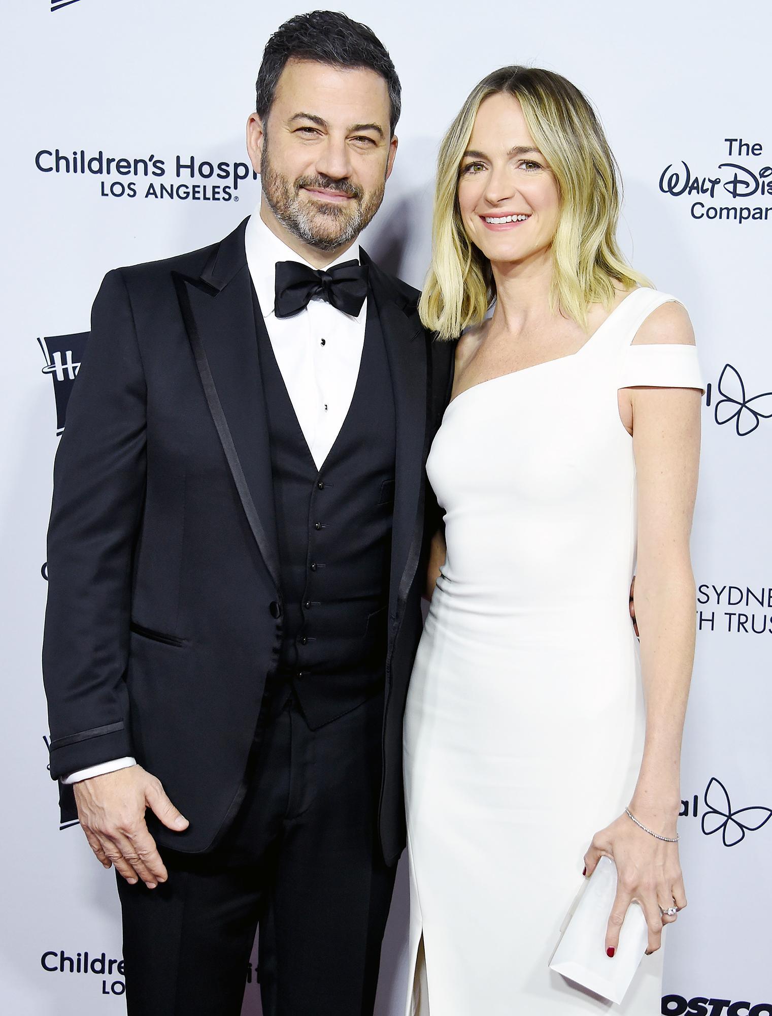 Jimmy Kimmel Molly McNearney
