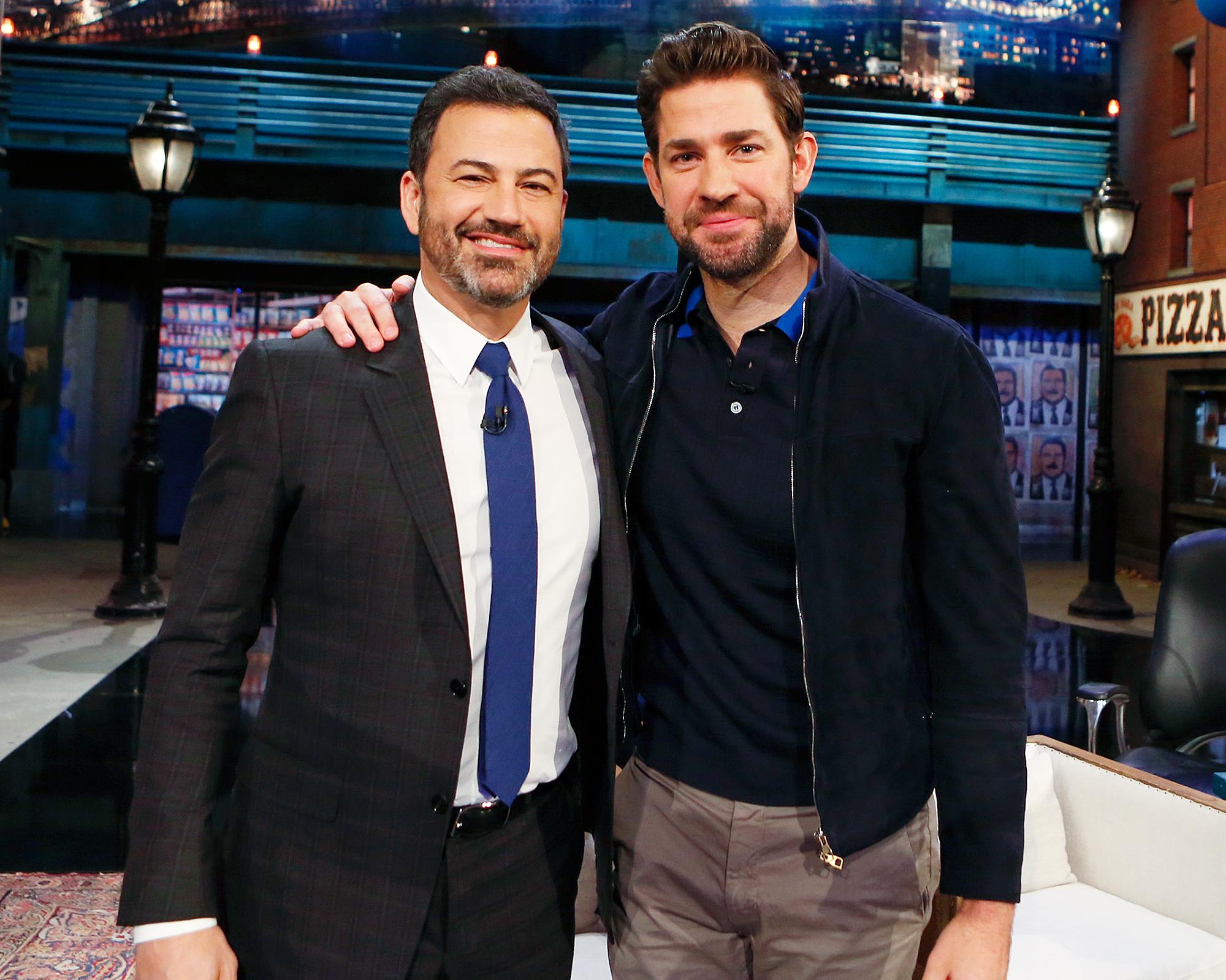 John Krasinski and Jimmy Kimmel Recount Their Pranks on Each Other