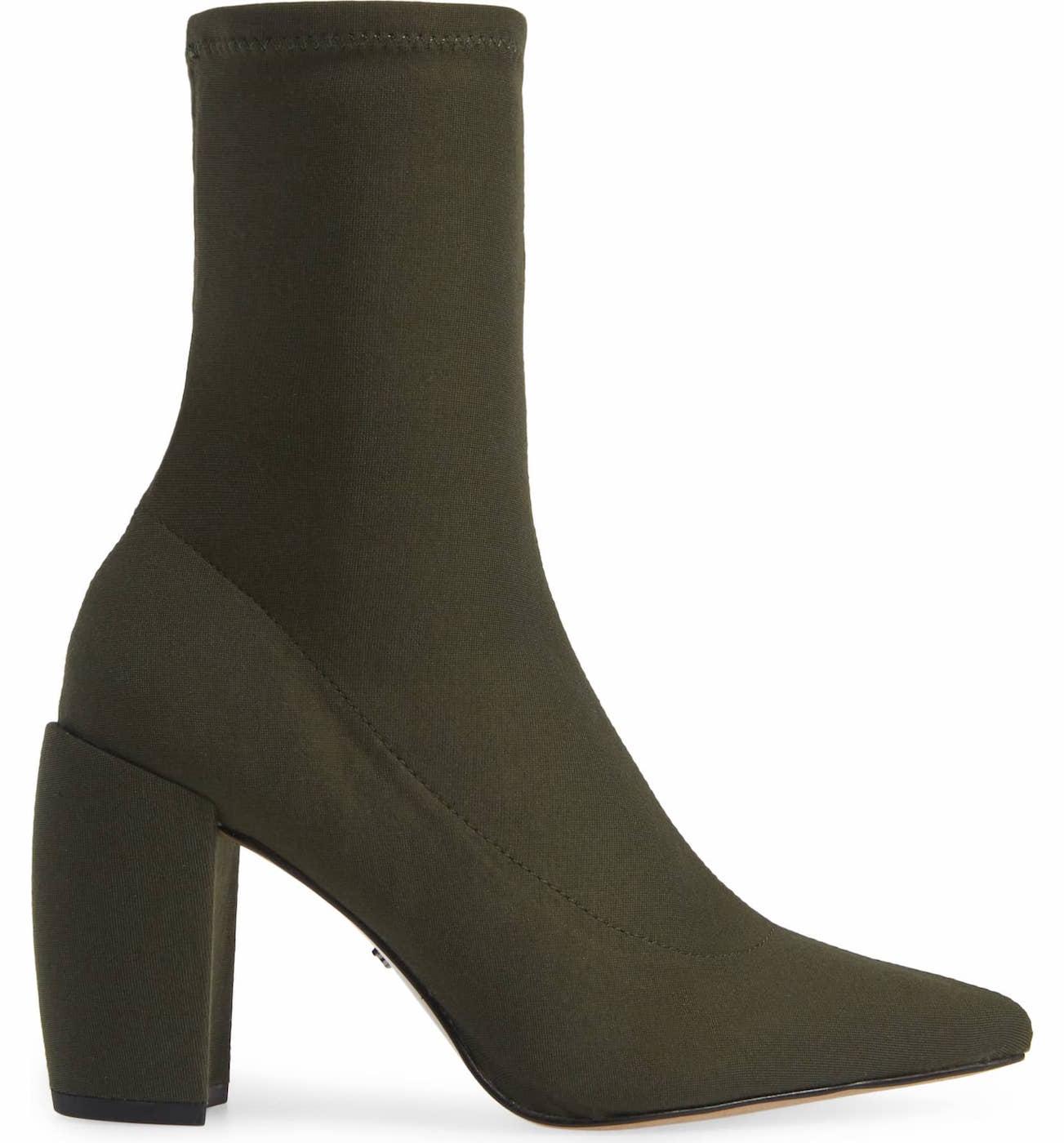 Kenneth Cole New York Alora Flared Heel Sock Boot