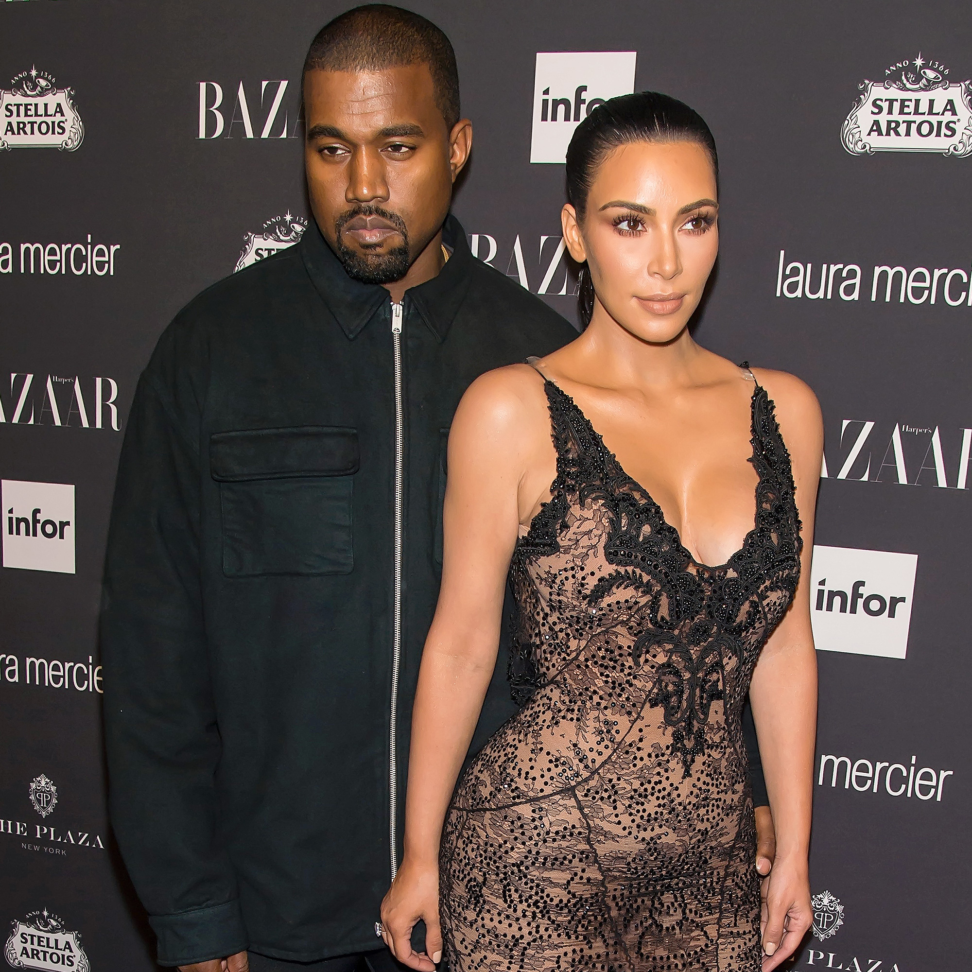 Kim Kardashian, Kanye West, Charlamagne Tha God - Kanye West and Kim Kardashian West attend Harper's BAZAAR Celebrates 'ICONS By Carine Roitfeld' at The Plaza Hotel on September 9, 2016 in New York City.