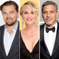 Leo-DiCaprio,-Sharon-Stone-and-George-Clooney-on-Roseanne
