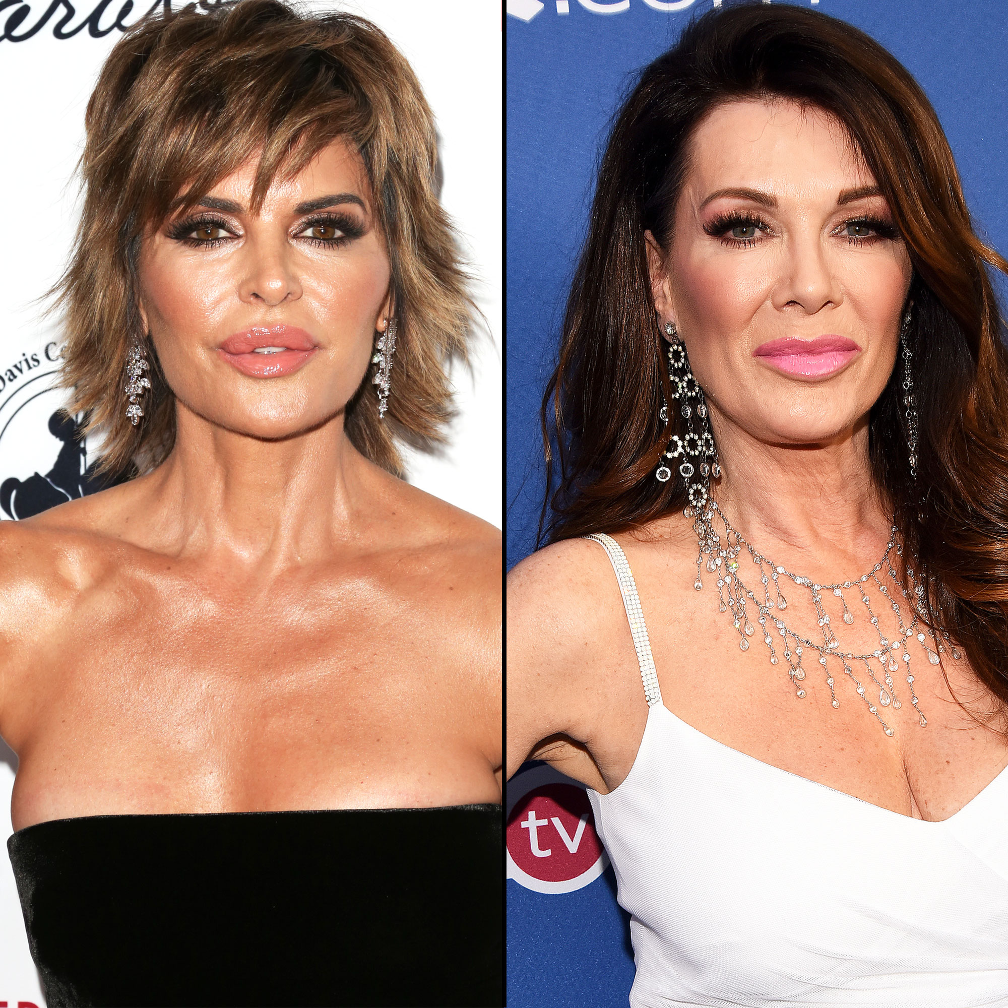 lisa rinna calls out lisa vanderpump for not filming with rhobh cast