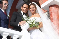 Maria Menounos, Keven Undergaro, Wedding