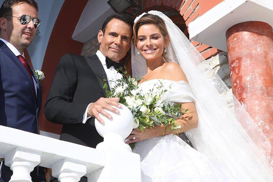 Maria Menounos, Keven Undergaro, Wedding