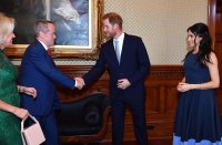 Prince Harry Duchess Meghan Meet Australian Royal Couple