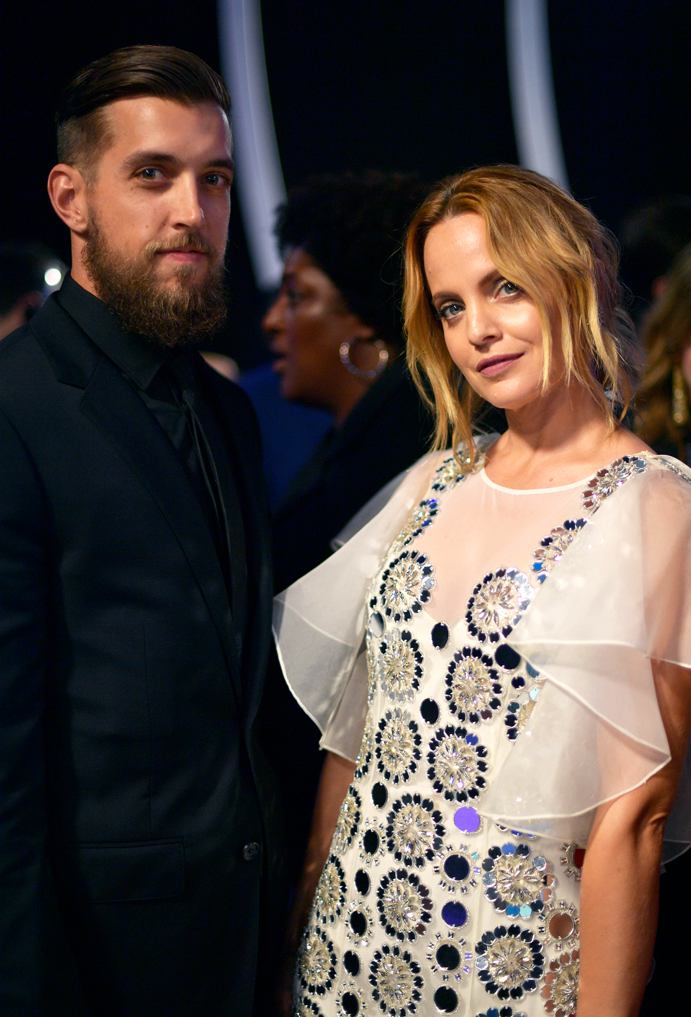 Mena Suvari Confirms She Secretly Married Michael Hope: 'Third Time's a Charm!' - Mena Suvari and Michael Hope attend the 2017 MTV Video Music Awards at The Forum on August 27, 2017 in Inglewood, California.