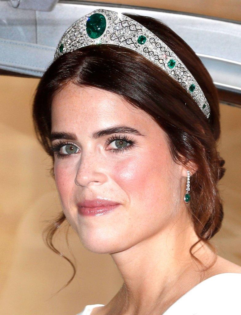 Princess Eugenie Wears Greville Tiara To Marry Jack Brooksbank