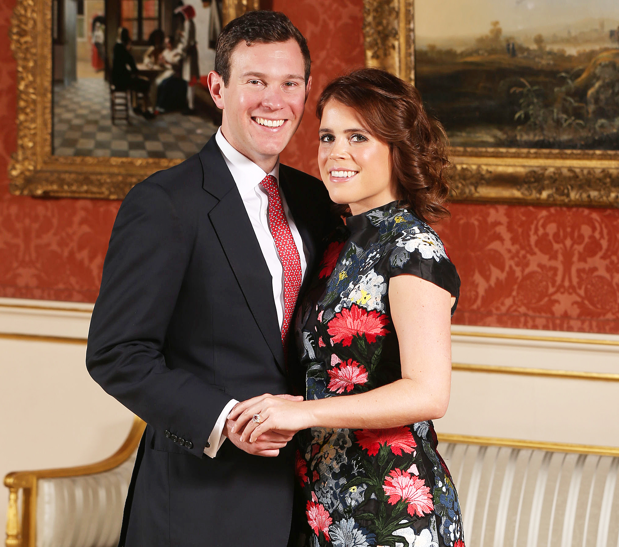 Princess Eugenie Jack Brooksbank Prince George Princess Charlotte Wedding Roles