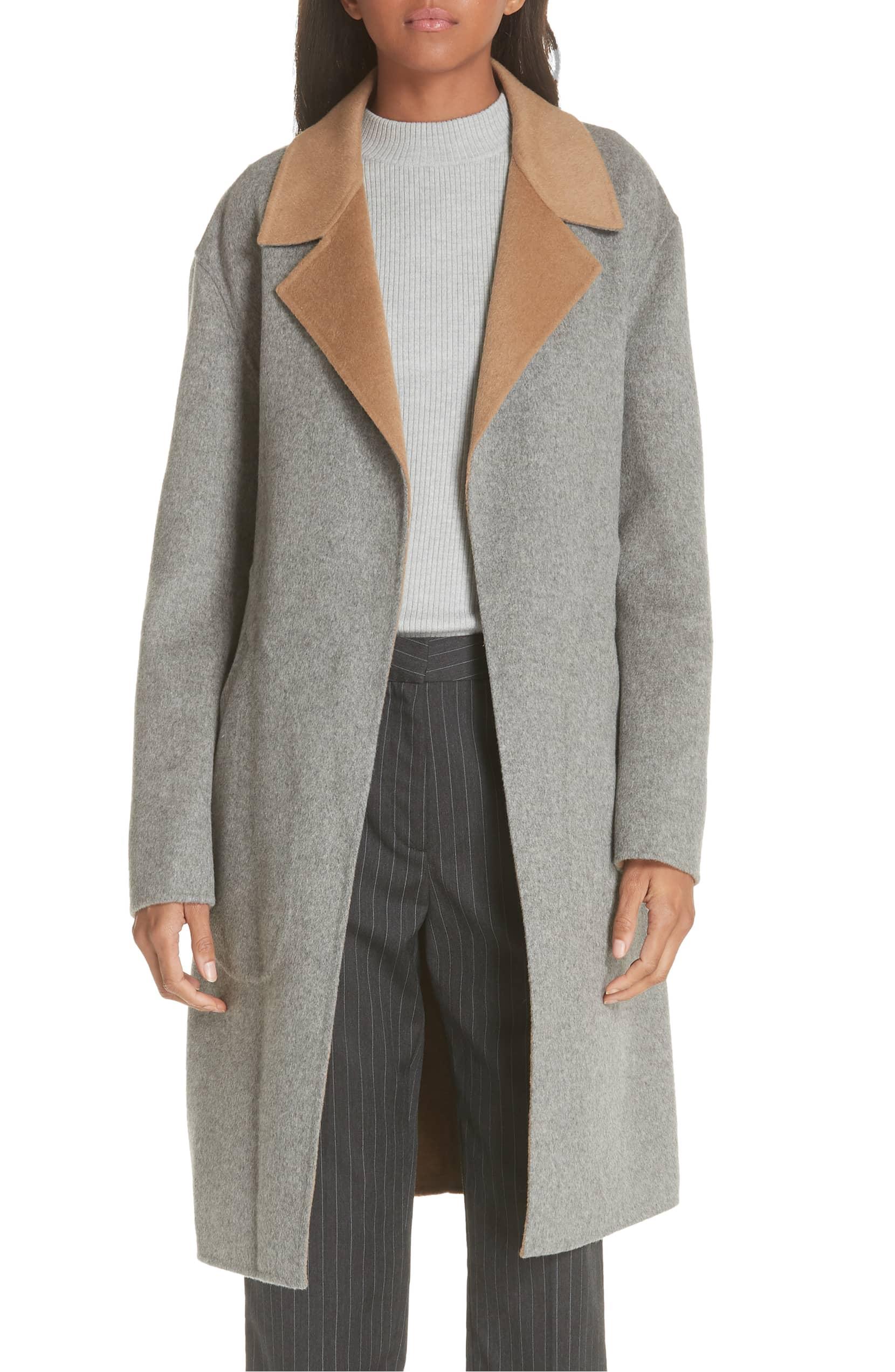 Rag & Bone Sven Reversible Wool Blend Coat