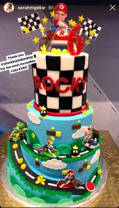 Sarah Michelle Gellar's son celebrates his sixth birthday.