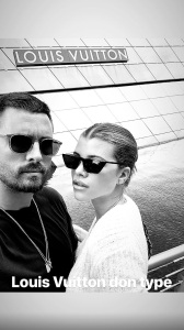 Scott Disick, Kourtney Kardashian, Vacation, Sofia Richie, Instagram