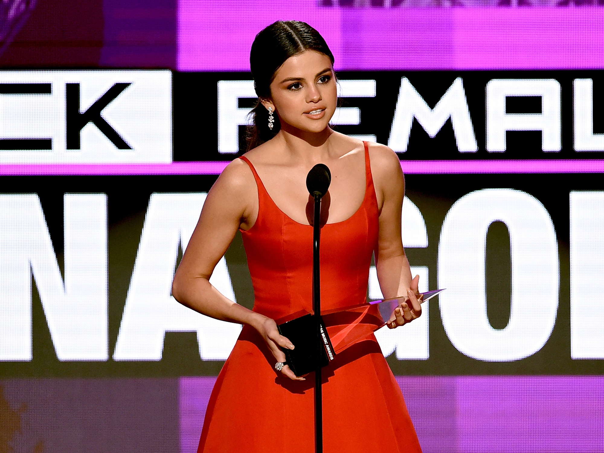 """Selena Gomez's Mental Health Battle In Her Own Words - Gomez shared an emotional message with fans on Thanksgiving Day in 2016, admitting it was her """"hardest"""" but """"most rewarding"""" year yet. """"I've finally fought the fight of not 'being enough.' I have only wanted to reflect the love you guys have given me for years and show how important it is to take care of YOU,"""" she wrote."""