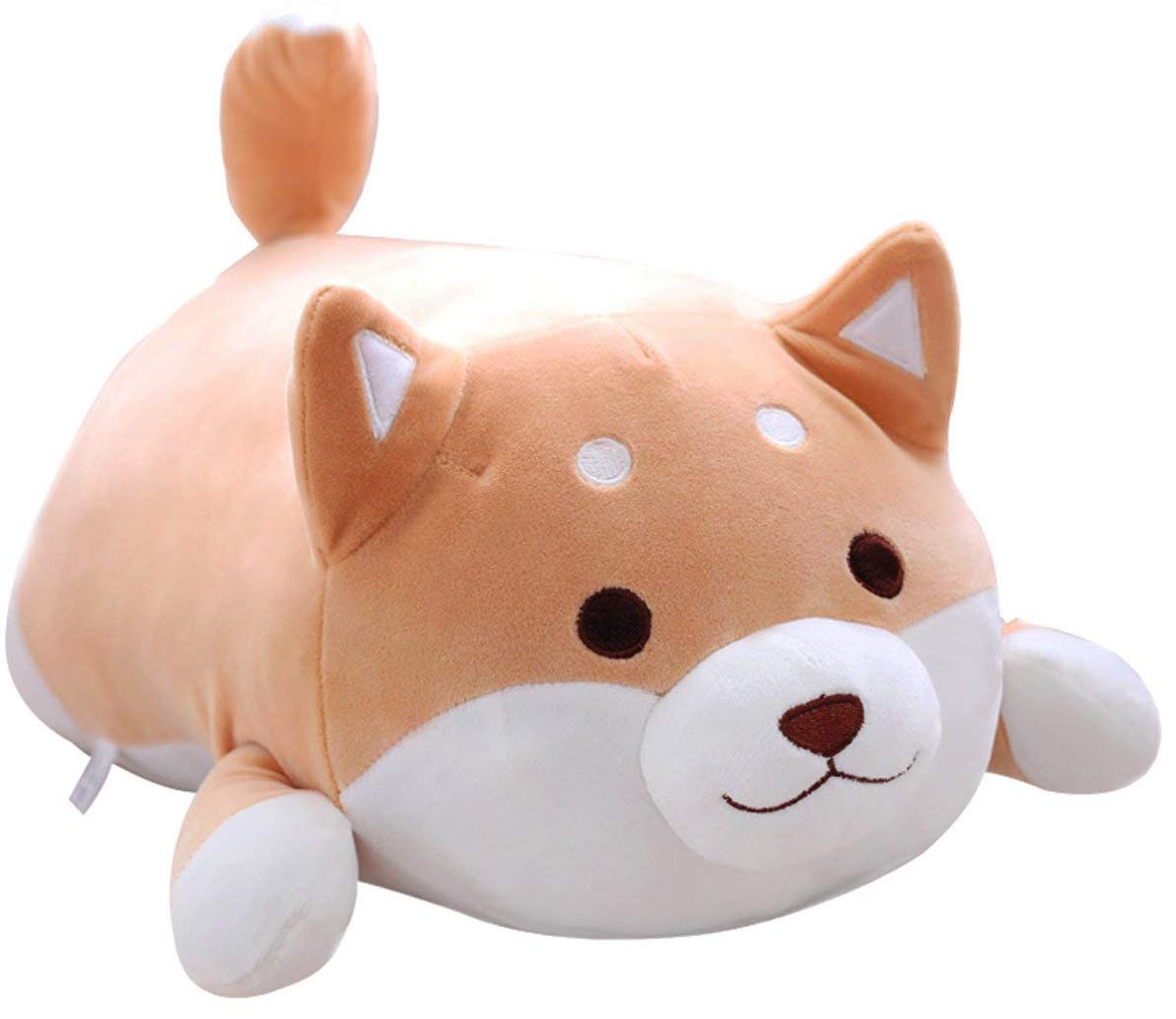 Shiba Inu Dog Plush Pillow, Cute Corgi Akita Stuffed Animals Doll Toy Gifts for Valentine's Gift