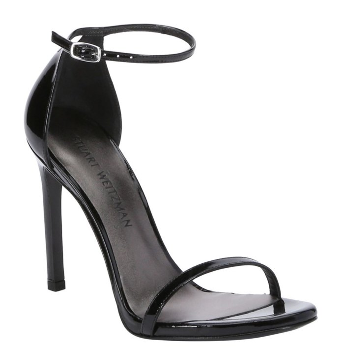 Stuart Weitzman Nudistsong Patent Leather Sandals
