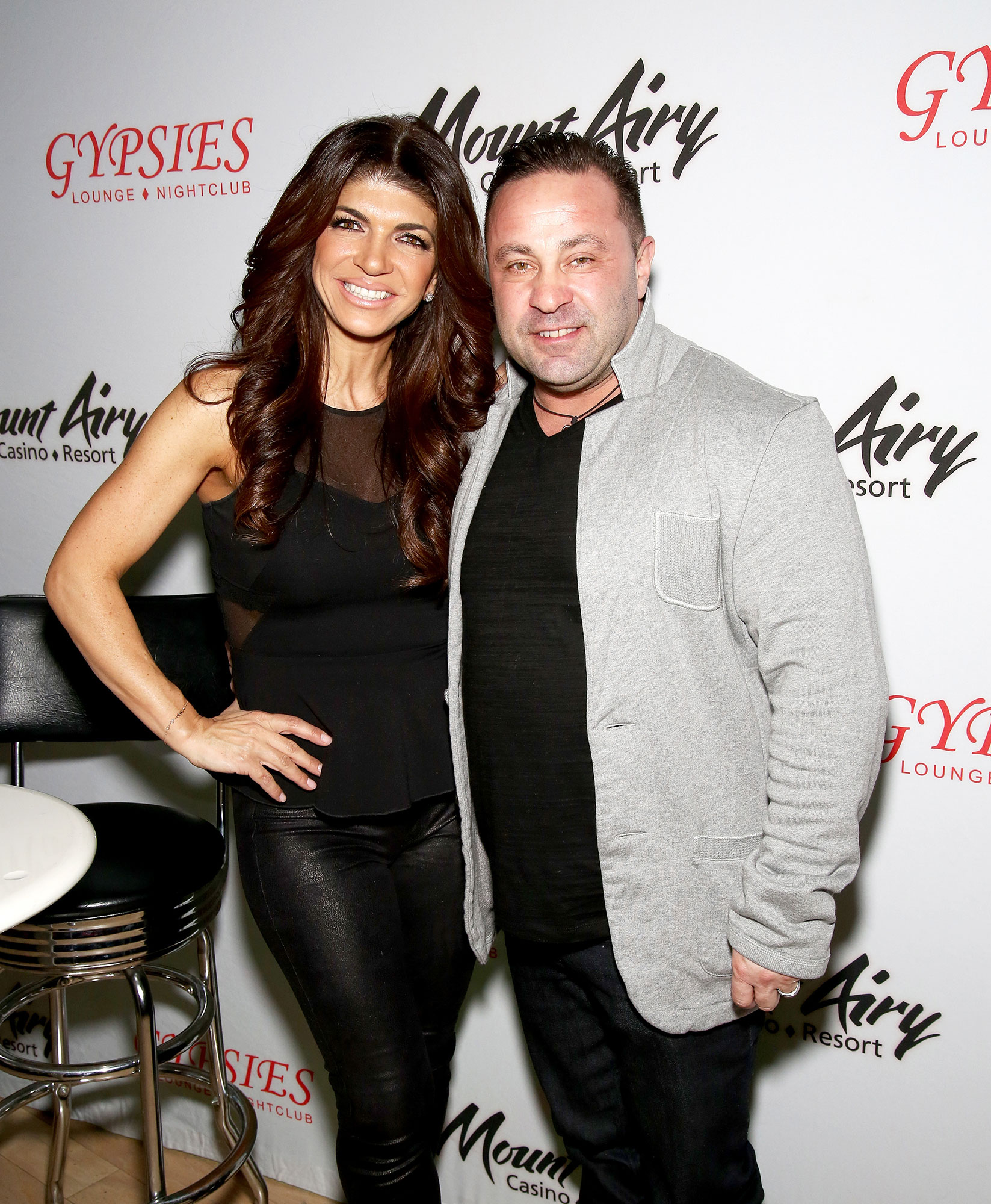 Teresa Giudice, Joe Giudice - Teresa Giudice, (L) star of The Real Houswives of New Jersey, and Joe Giudice appears at Mount Airy Resort Casino for a book signing and meet and greet on March 5, 2016 in Mount Pocono City.