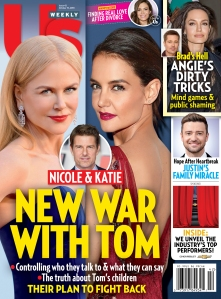 UW4128 Us Weekly Cover Nicole Kidman Katie Holmes Tom Cruise