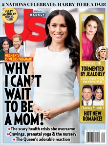 Us Weekly Cover Duchess Meghan Pregnant