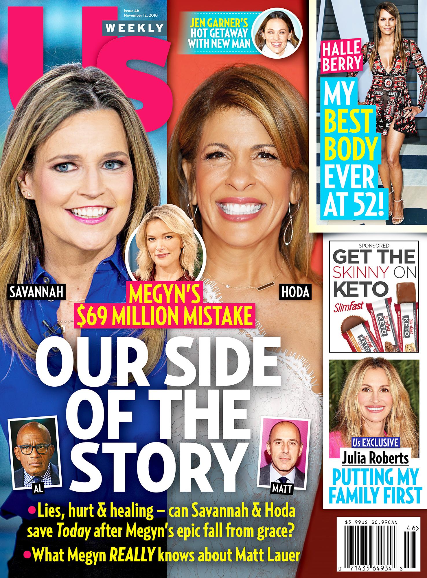 Us Weekly Cover Megyn Kelly Hoda Kotb Savannah Guthrie