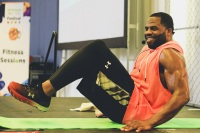 Leyon, Workout, Wellness Your Way Festival