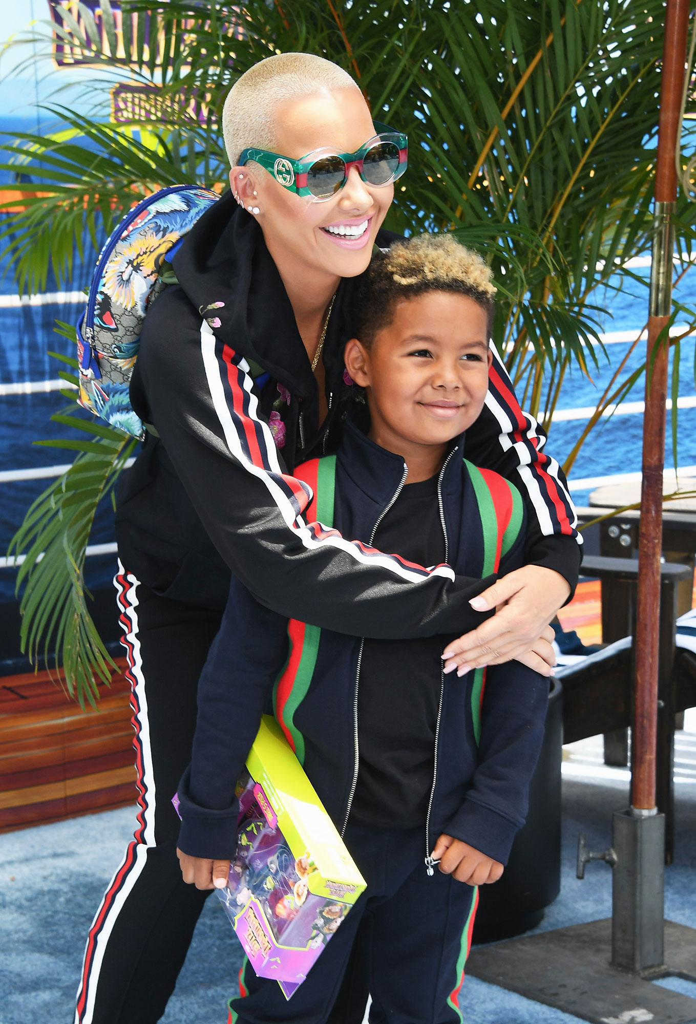 Amber Rose Allows 5-Year-Old Son to Curse, But Wishes He