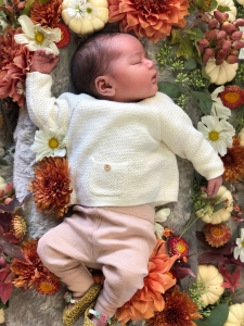 Amber Stevens West's baby