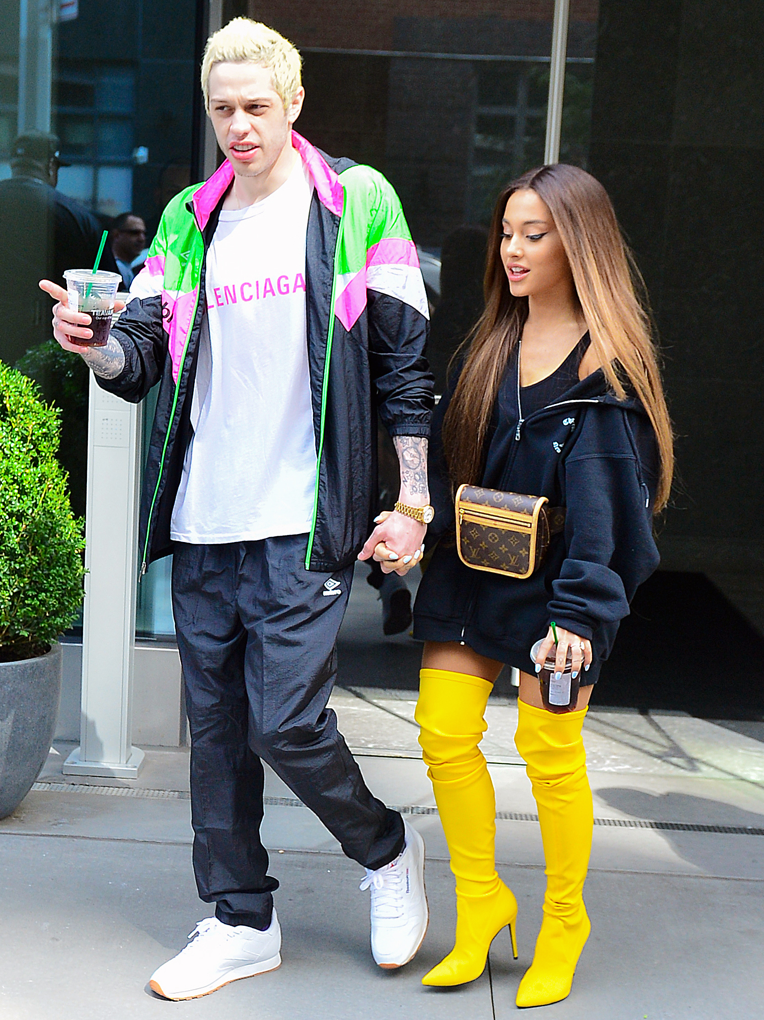 "Ariana Grande Pete Davidson Split - Us Weekly confirmed on October 14, 2018, that the couple ended their four-month engagement. ""They realized it happened too quick and too early. The wedding is off, but they're working things out. They're not officially done yet,"" a source told Us."
