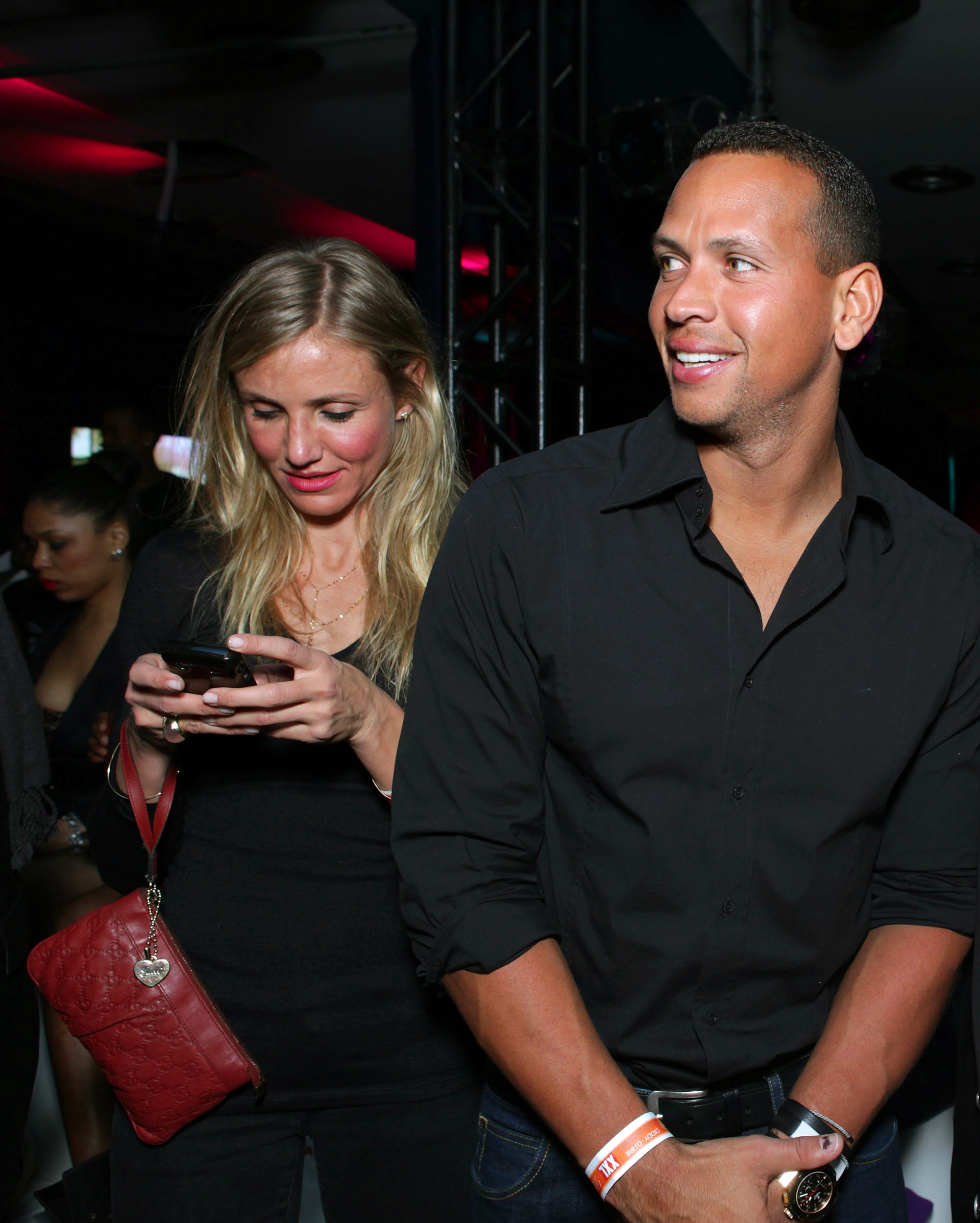 hot rebound romances - The Yankees slugger moved from Kate Hudson (they split in December) to Diaz, who was first spotted sneaking out of his NYC apartment in early May.