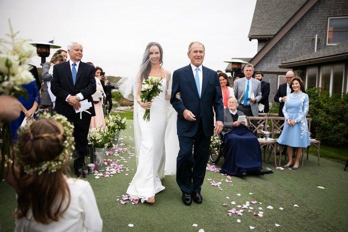 Barbara Bush Craig Coyne Wedding George W Bush