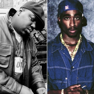 The Notorious B.I.G. and Tupac Shakur