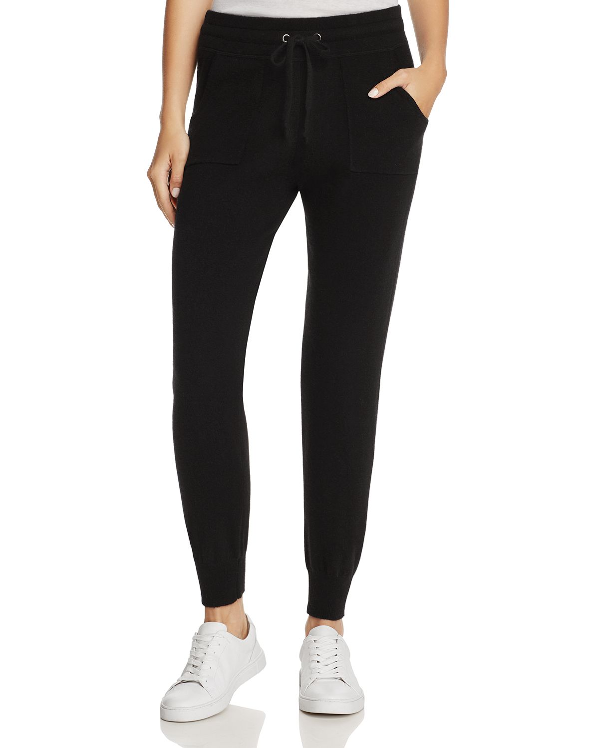 black cashmere jogger pants bloomingdales friends and family sale