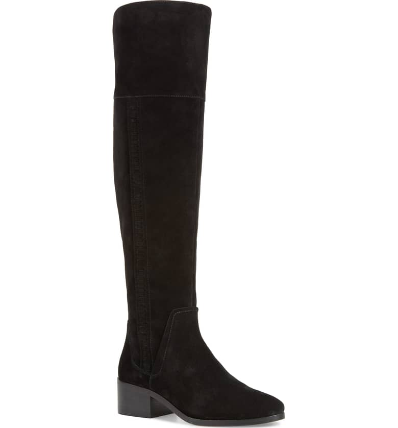 black suede boots vince camuto