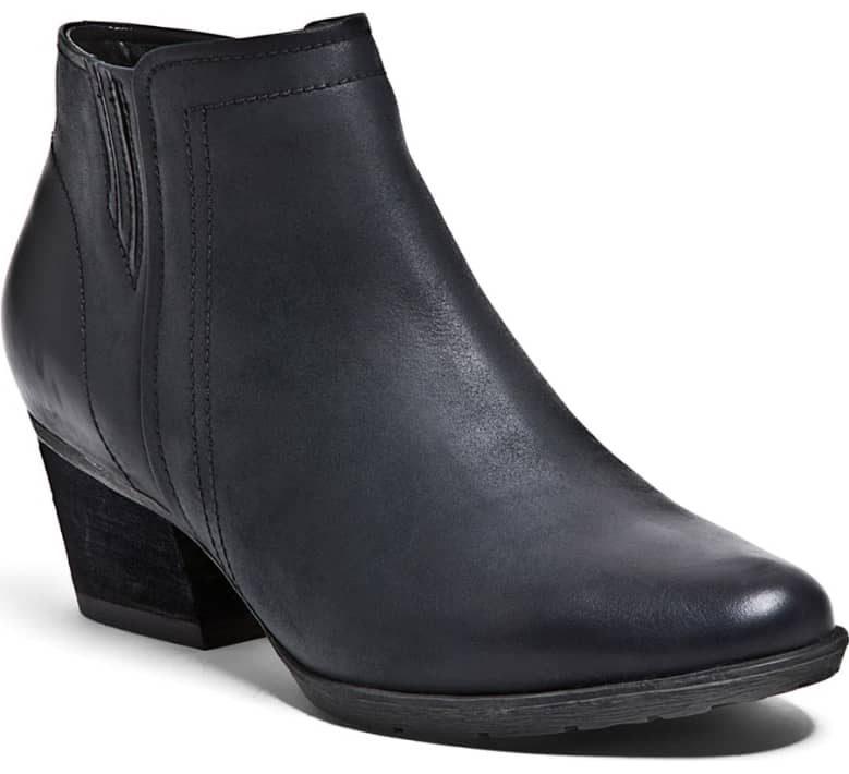 blondo black waterproof booties
