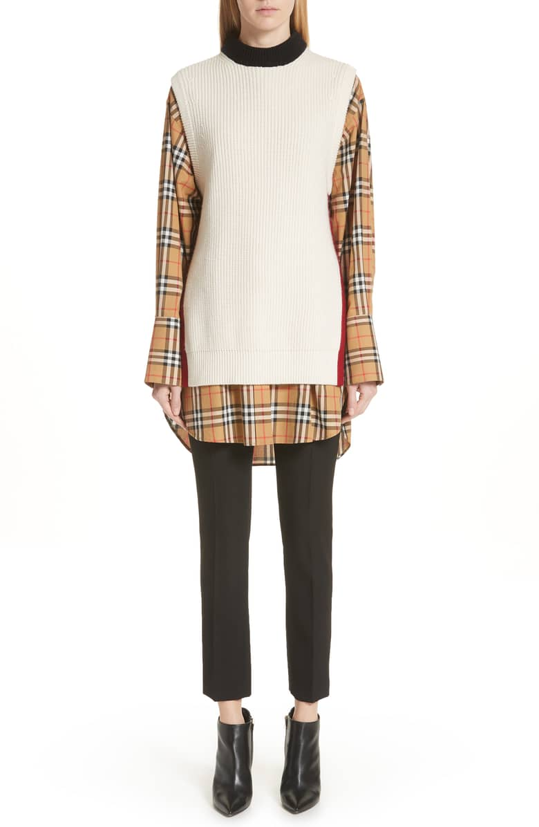 burberry knox 55 wool cashmere sweater
