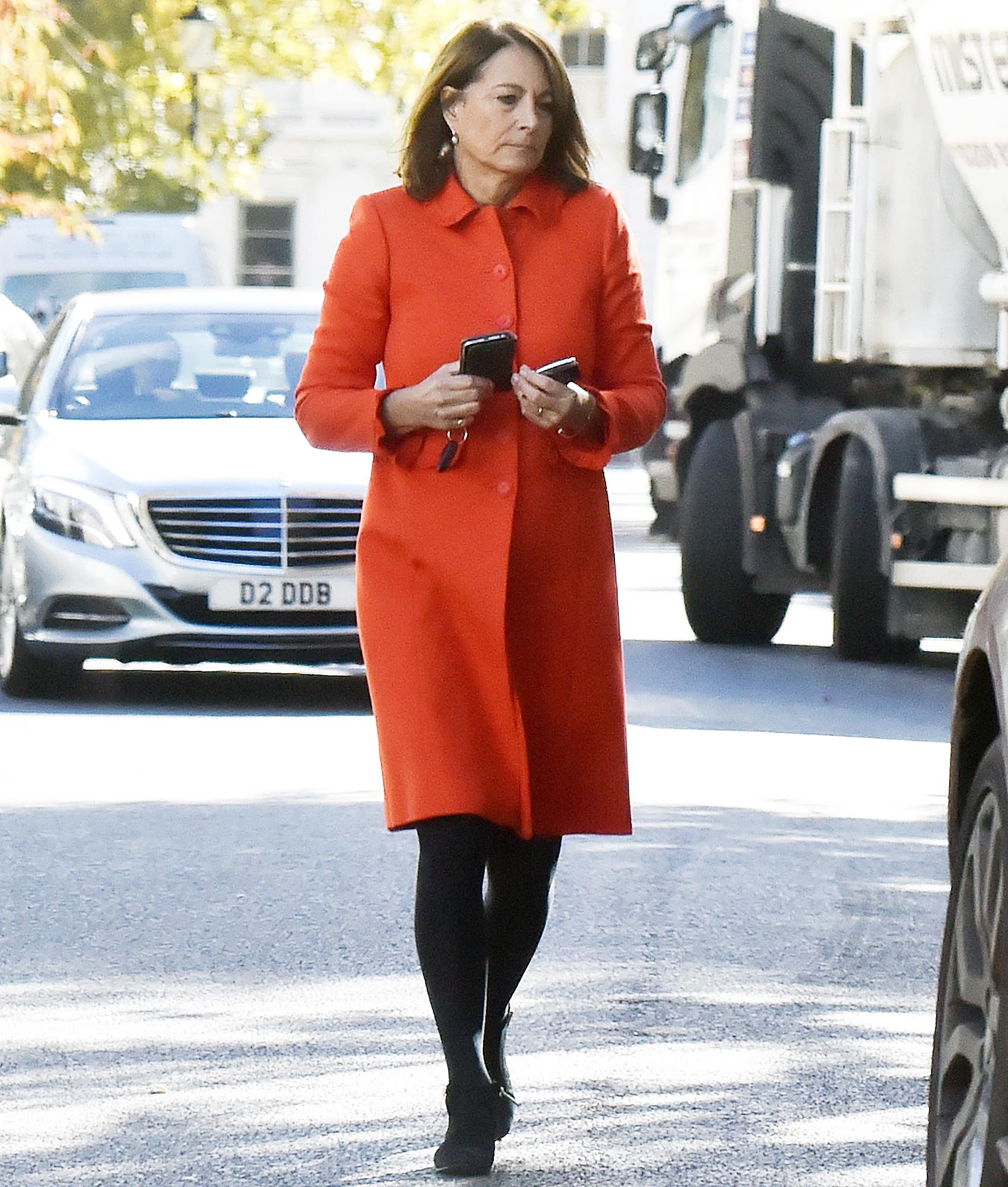 Carole Middleton Visits Pippa Middleton After Baby
