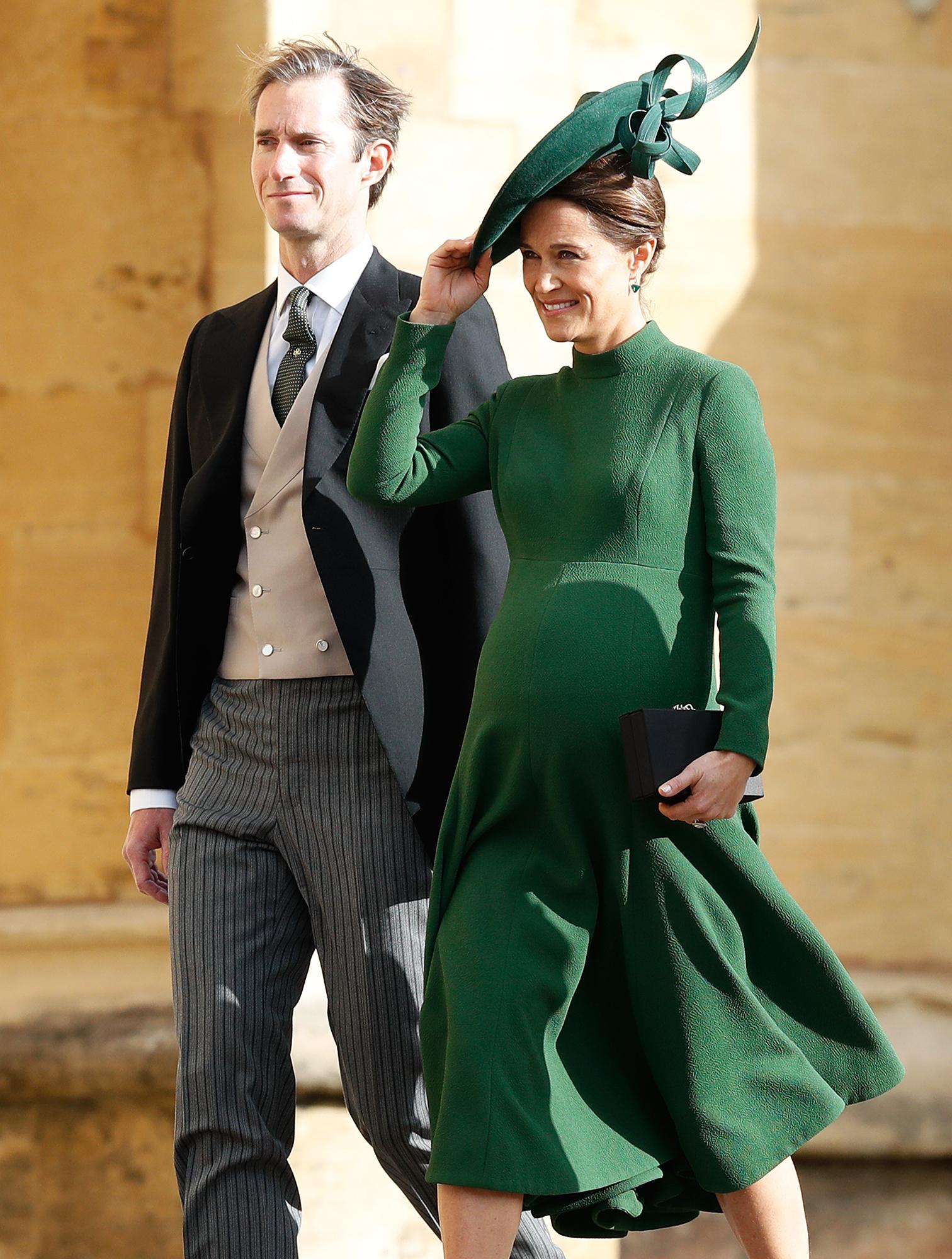 Carole Middleton Visits James Matthews Pippa Middleton After Baby